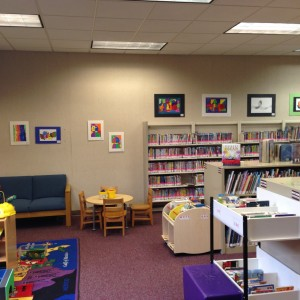 Churchville Library interior