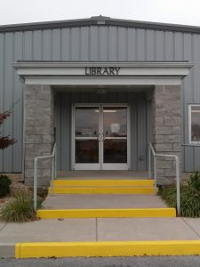 photo of the entrance to the Craigsville LIbrary Station
