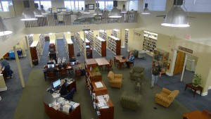adul area of the Fishersville Library