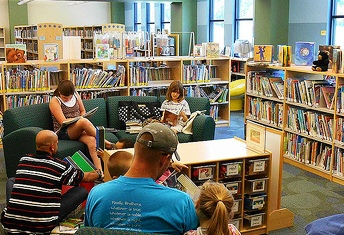 Children's Library in Fishersville