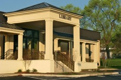 photo of exterior of Fishersville Library