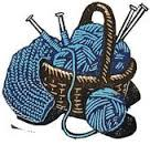 graphic of yarn and knitting needles