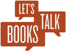 graphic that says Let's Talk Books