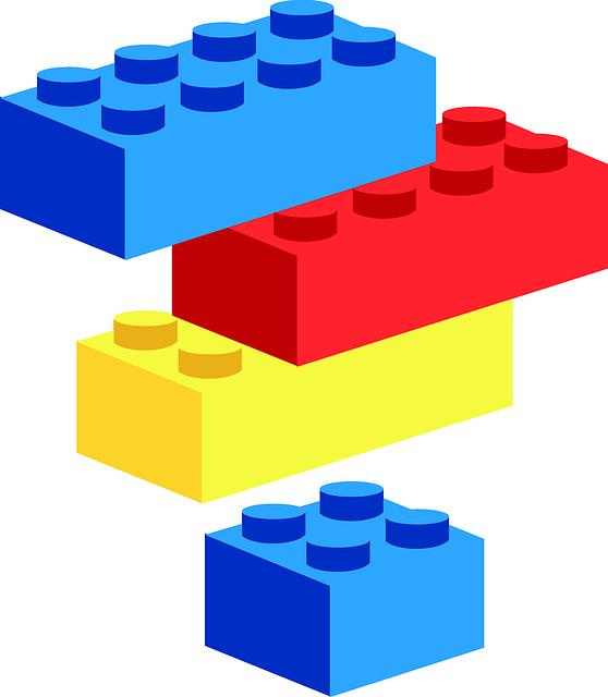 graphic of Lego blocks
