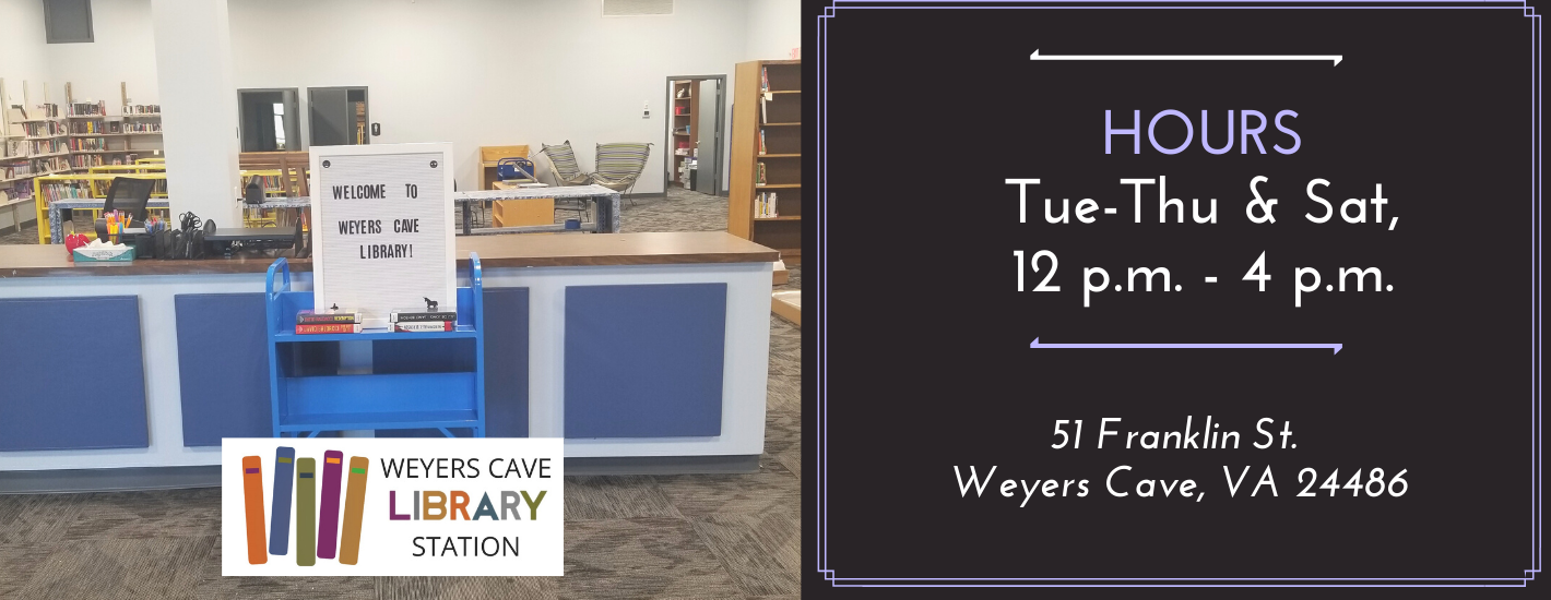 Weyers Cave Library Station