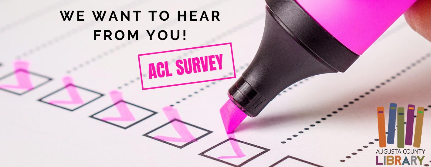 ACL Community Survey